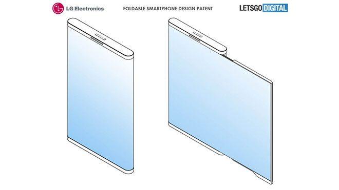 LG katlanabilir akıllı telefon