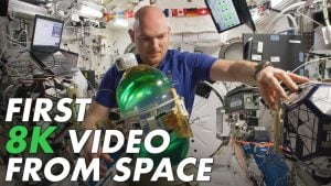 NASA ISS 8K uzay videosu 8K video