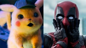 Ryan Reynolds Detective Pikachu Deadpool