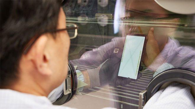 Samsung akıllı telefon test