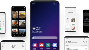 Samsung One UI Android Pie
