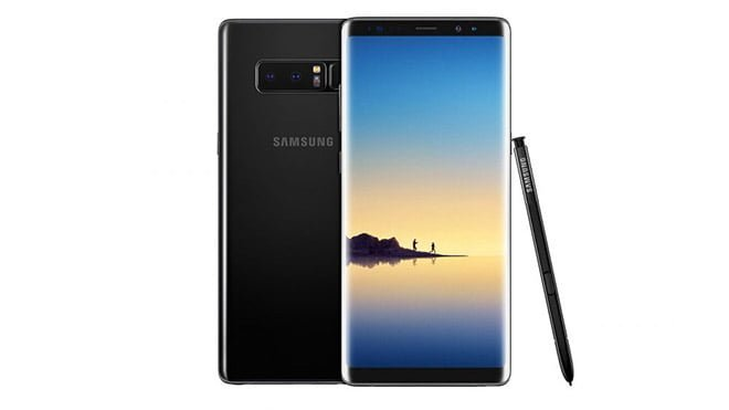 Samsung Galaxy Note 8 Galaxy S8 Android Pie