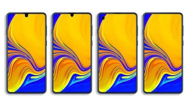 Samsung Infinity ekranlar