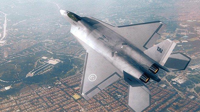 Türkiye'nin milli savaş uçağı TF-X