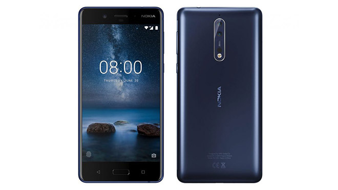 HMD Global Nokia 8 Android Pie