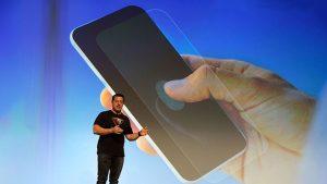 Akıllı telefon güvenliğinde ekrana entegre üç boyutlu ultrasonik parmak izi sensörü