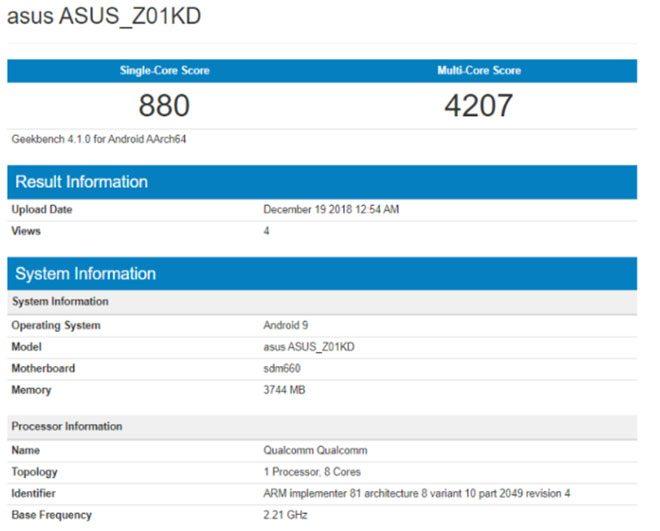 Asus zenfone 4 Android Pie zenfone 5