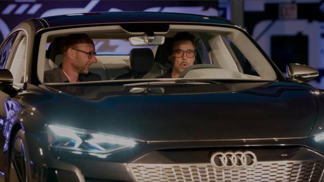 Audi e-tron GT Avengers Endgame Iron Man tanıtımı