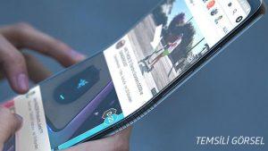 ZTE katlanabilir akıllı telefon