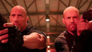 Dwayne Johnson ve Jason Statham Hızlı ve Öfkeli
