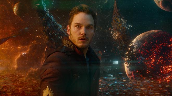Avengers Infinity War Peter Quill