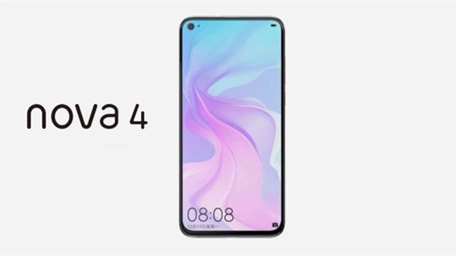 Huawei Nova 4'ün göz alıcı rengini gözler önüne seren resmi paylaşım