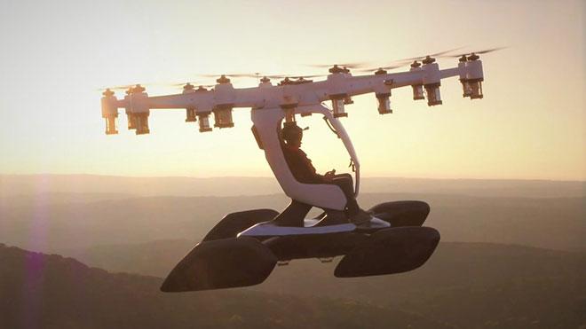 kişisel ulaşım aracı LIFT Aircraft Hexa