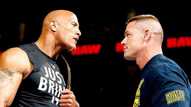 John Cena Dwayne Johnson