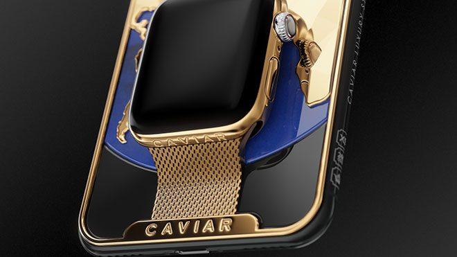 Caviar iPhone Xs Max Apple watch