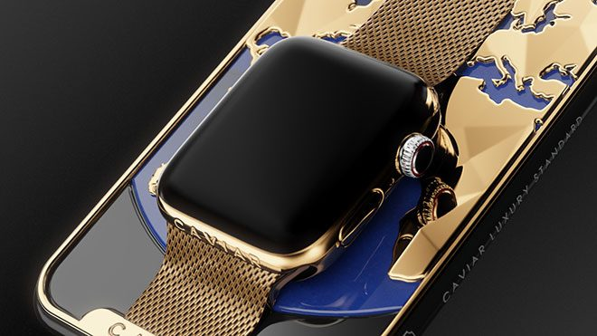 Caviar iPhone Xs Max Apple watch