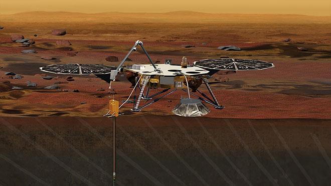 NASA InSight Mars