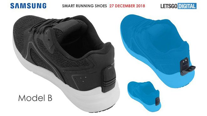 Samsung akıllı ayakkabı