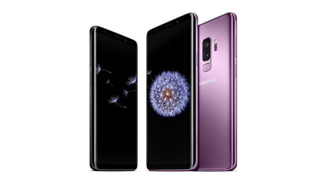 Samsung Galaxy S9 Galaxy S9 Plus Android Pie One UI