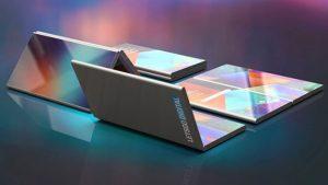 Samsung'un katlanabilir yapıdaki iki ekranlı akıllı telefon nasıl görünecek?