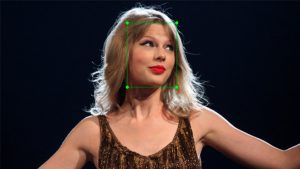 Taylor Swift yüz tanıma
