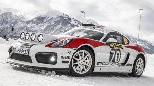 Porsche 718 Cayman GT4 Rally