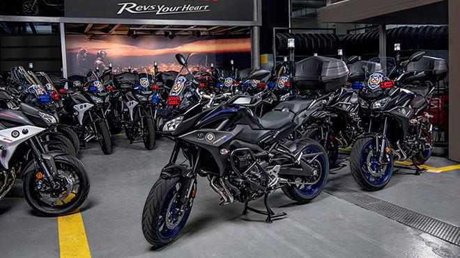 Yamaha Tracer 900 Emniyet Genel Müdürlüğü motosiklet