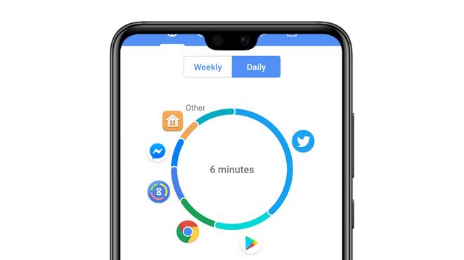 Android 9.0 özelliği Dijital Denge için geliştirilen uygulama ActionDash