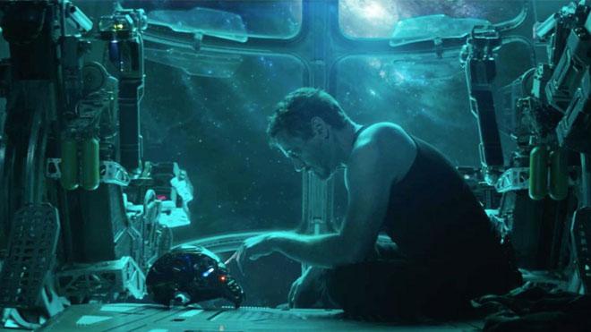 Avengers Endgame geri sayım paylaşımı