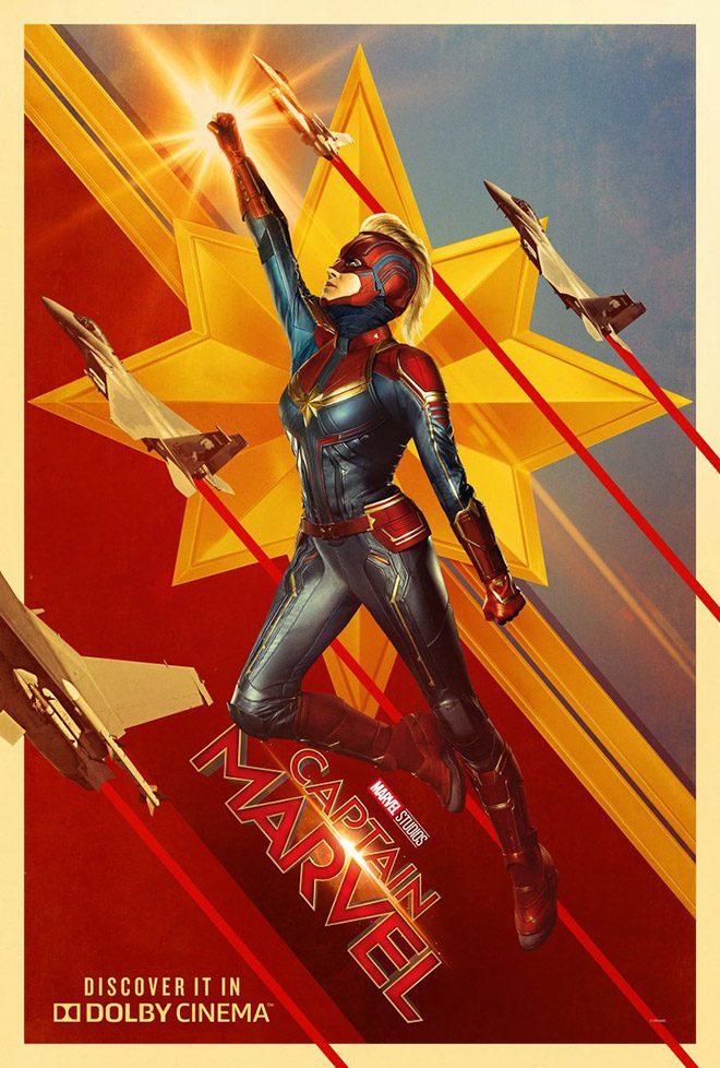 Avengers Endgame öncesi 3 yeni Captain Marvel posteri