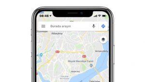 Yeni Google Haritalar özelliği