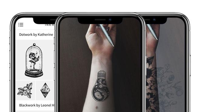 dövme sildirme korkusu olmadan dövme modelleri deneme uygulaması