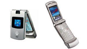 Katlanabilir akıllı telefon Motorola RAZR 2019