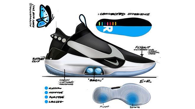 Nike Adapt BB otomatik bağcıklı ayakkabı