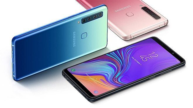 Samsung Galaxy A9 Samsung Galaxy A8 Android Pie