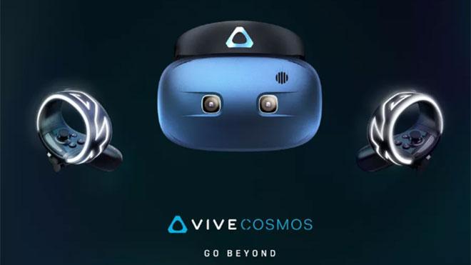 Sanal gerçeklik başlığı dünyasına iki yeni dikkat çeken üye: HTC Vive Pro Eye ve Vive Cosmos VR [Video]