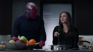 Marvel dizisi vision and scarlet witch
