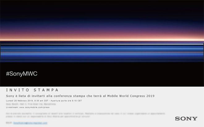 Sony xperia xz4 mwc 2019