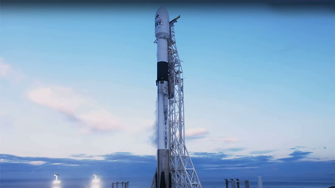 SpaceX Elon Musk Iridium-8 Mission