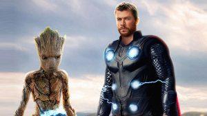 Avengers Infinity War Groot