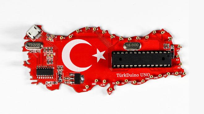 Arduino Uno TürkDuino Emre Konca