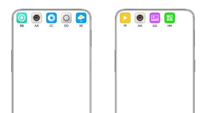 Oppo ekran deliği