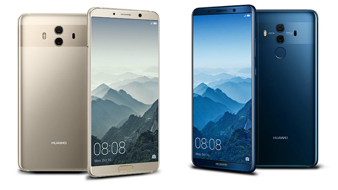 Huawei Mate 10 Pro Android Pie EMUI 9.0