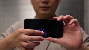 Xiaomi ekrana entegre parmak izi sensörü