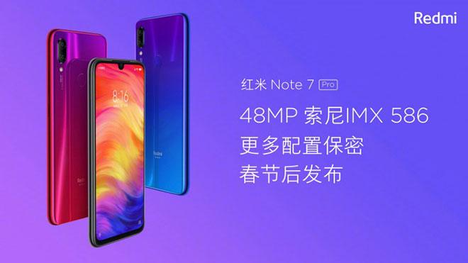 Xiaomi Redmi Note 7 Pro ve Redmi 7