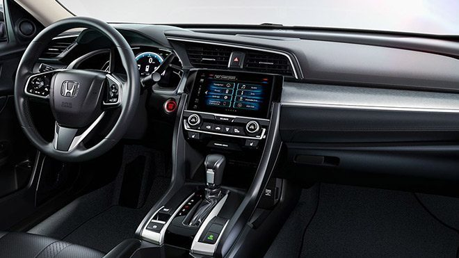 Honda Civic Interior 2