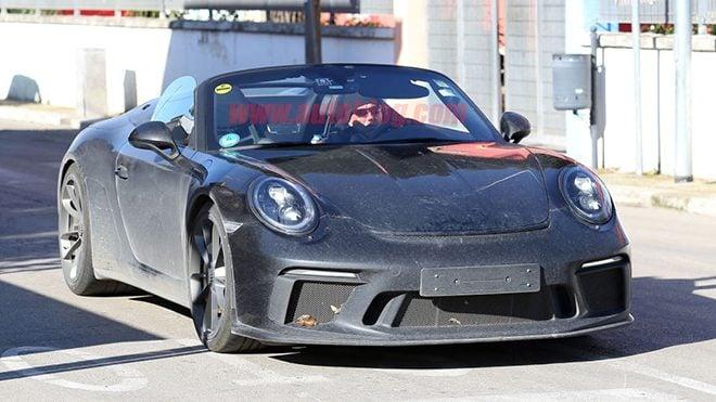 2020 Porsche 911 Speedster-görüntülendi