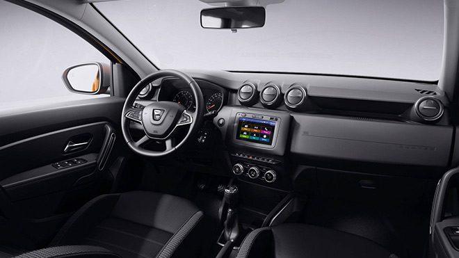 Dacia Duster iç mekan
