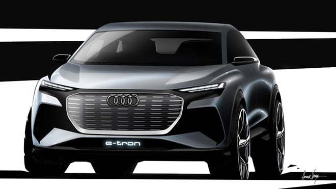 Audi Q4 e-tron elektrikli otomobil