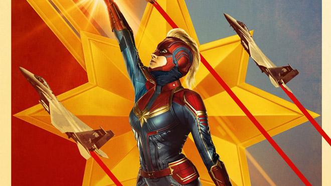 Avengers Endgame ile Super Bowl'da yayınlanan Captain Marvel fragmanı